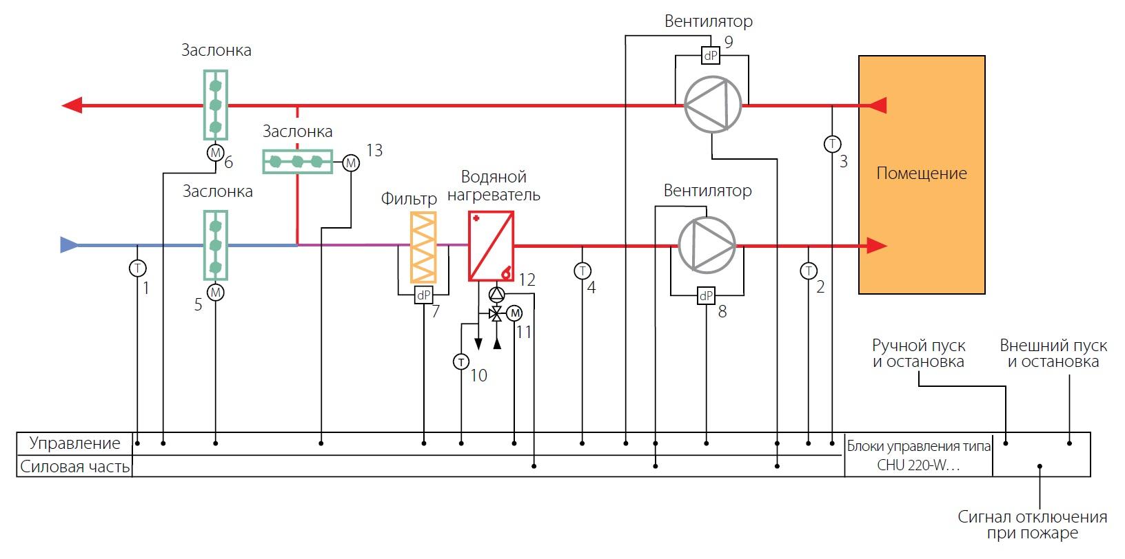 Датчик температуры наружного воздуха схема